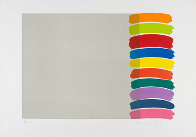 Sir Terry Frost, 'Stacked On The Side (K. 58)', 1970