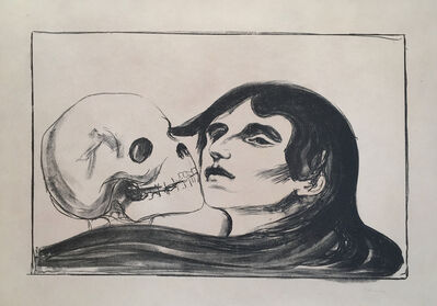 Edvard Munch, 'Todeskuss (The Kiss of Death)', 1899