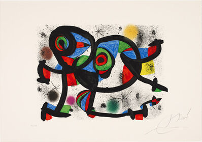 Joan Miró, 'La triple roué I, from 'Allegro vivace'', 1981