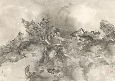 Tai Xiangzhou 泰祥洲, 'Rocks Thrusting through Clouds (ii) 烈石穿云Ⅱ', 2016
