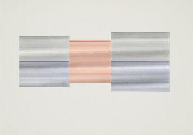 Michael Craig-Martin, 'Untitled (Venetian Blind Study 4)', 1989