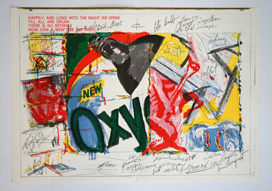 James Rosenquist, 'Oxy (from One Cent Life)', 1964