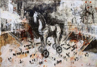 Gustavo Diaz Sosa, 'Arde Troya, arde!', 2017