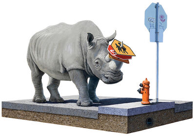 Josh Keyes, 'The Collector', 2012