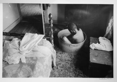 Constantine Manos, 'Untitled, Island Boy, Daufuskie Island, South Carolina (boy bathing, horizontal)', 1952