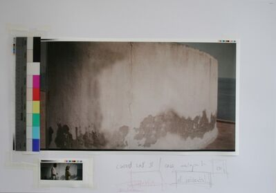 Peter Welz, 'Study | Curved Wall 2 | Casa Malaparte', 2014