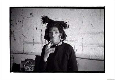 Roland Hagenberg, 'Basquiat smoking, New York, 1983', 1983