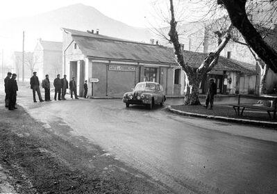 Jesse Alexander, 'Bristol 404, Monte Carlo Rally', 1956