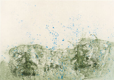 Pat Steir, 'Mountain in Rain', 2012