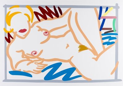 Tom Wesselmann, 'Judy With Blue Blanket', 1988