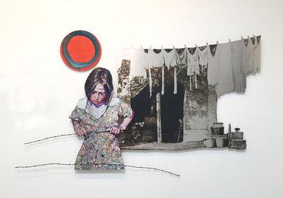 Hung Liu 刘虹, 'Clothesline', 2020