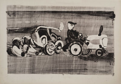 Michael Rothenstein, 'Ploughing', ca. 1948
