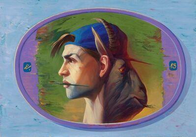 Egor Koshelev, 'Stranger in blue hat', 2013