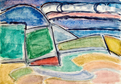 Alexei Kamensky, 'Mountain Brook', 1967