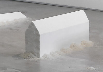Wolfgang Laib, 'Rice House', 2010-2011