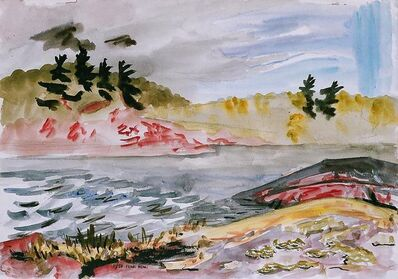Frederick Hagan, 'Untitled (Deer Lake #11)', 1984
