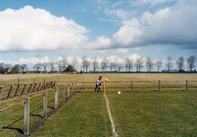 Hans van der Meer, 'Aartswoud; A.G.S.V.—Kwiek; 1—0'