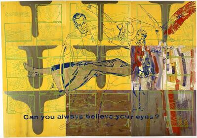 Sigmar Polke, 'Can you always believe your eyes?', 1976
