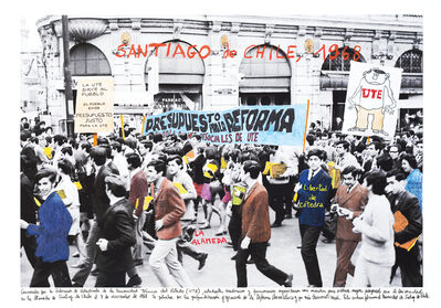 Marcelo Brodsky, 'From the series 1968: The fire of Ideas, Santiago de Chile, 1968', 2014-2019