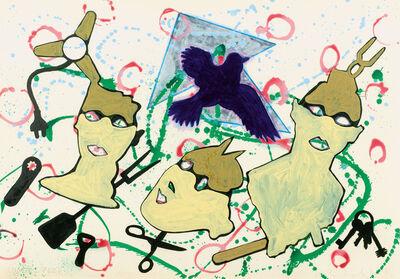 Kiki Kogelnik, 'Vogelfrei', 1981