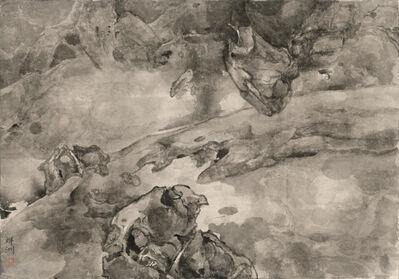 Tai Xiangzhou 泰祥洲, 'Battle of Bulls 排空斗牛', 2016