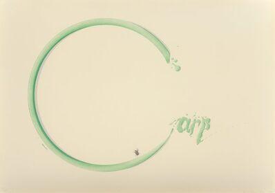 Ed Ruscha, 'Carp with Fly', 1969