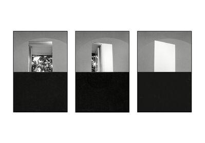 Mario Cresci, ' Campo riflesso e trasparente, Trisorio 1979 (triptych) ', 2018