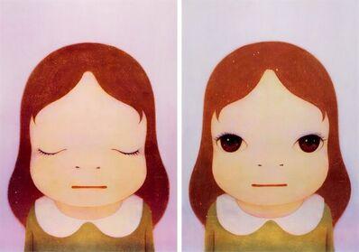 Yoshitomo Nara, 'Cosmic Girl (Eyes Open, Eyes Shut)', 2008
