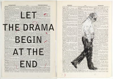 William Kentridge, 'Second Hand Reading', 2013
