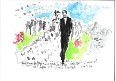 manuel santelices, 'Wedding of Giovanna Battaglia, Capri', 2016