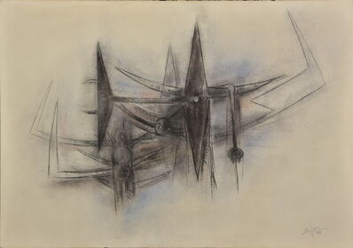 Wifredo Lam, '(Les brousses )', 1963