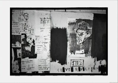 Roland Hagenberg, 'Basquiat, unfinished painting – man with hat, New York, 1983', 1983
