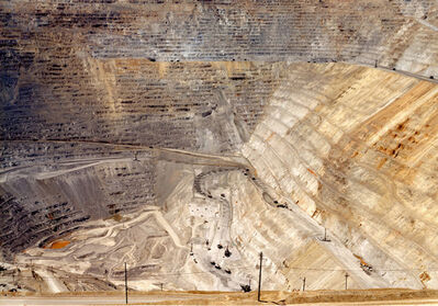 Victoria Sambunaris, 'Untitled (Copper mine) Bingham Canyon, Utah', 2002