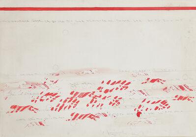 Alighiero Boetti, 'Senza titolo (Pantere)', 1988