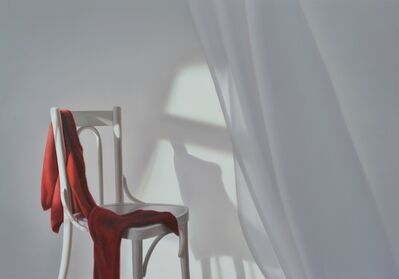 Edite Grinberga, 'Chair with red', 2016
