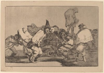 Francisco de Goya, 'Disparate de Carnabal (Carnival Folly)', in or after 1816