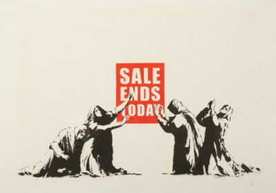 Banksy, 'Sale Ends Today (V.2)', 2017