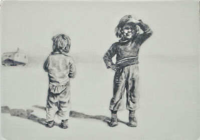 Hung Liu 刘虹, 'Companions I 1/3'