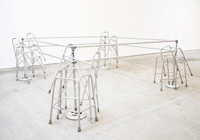 Cady Noland, 'Frame Device', 1989