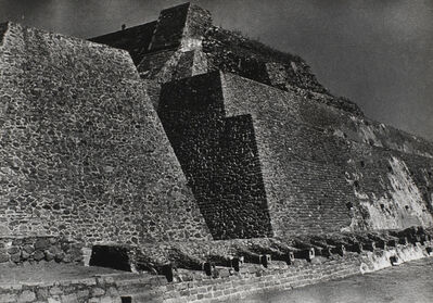Josef Albers, 'Pyramid of Tenajuca'
