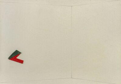 Pino Pinelli, 'Carte incollate', 1982