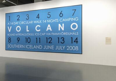 Hamish Fulton, 'Volcano Iceland', 2008