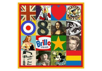 Peter Blake, 'Sources of Pop Art V', 2007