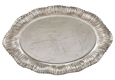 Buccellati, 'Buccellati Sterling Silver Oval Tray', 20th c.
