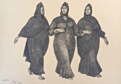 Francisco Zúñiga, 'Impressions of Egipto (Egypt) plate 5', 1982
