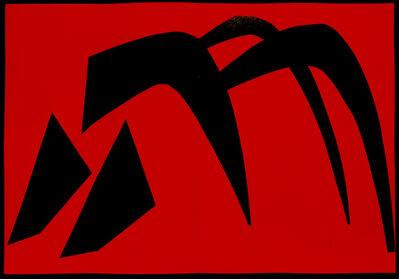 Alexander Calder, 'Derriere Le Miroir No. 113 Stabile', 1959