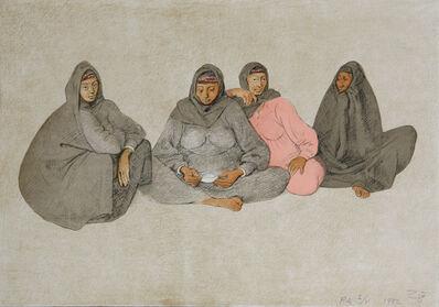 Francisco Zúñiga, 'Impresiones de Egipto, Plancha 7', 1982