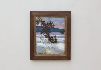 Akseli Gallen-Kallela, 'A lake view (Lake Keitele)', 1905