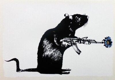 Blek le Rat, 'Warrior', 2018