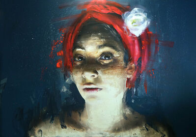 Roberta Coni, 'Isabella with Red Turban', 2019
